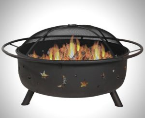 Sunnydaze 42 Inch Large Cosmic Outdoor Patio Fire Pit Review