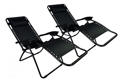 FDW Zero Gravity Patio Lounge Chairs
