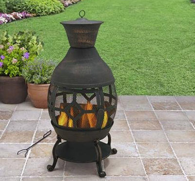 Better Homes and Gardens Cast Iron Chiminea