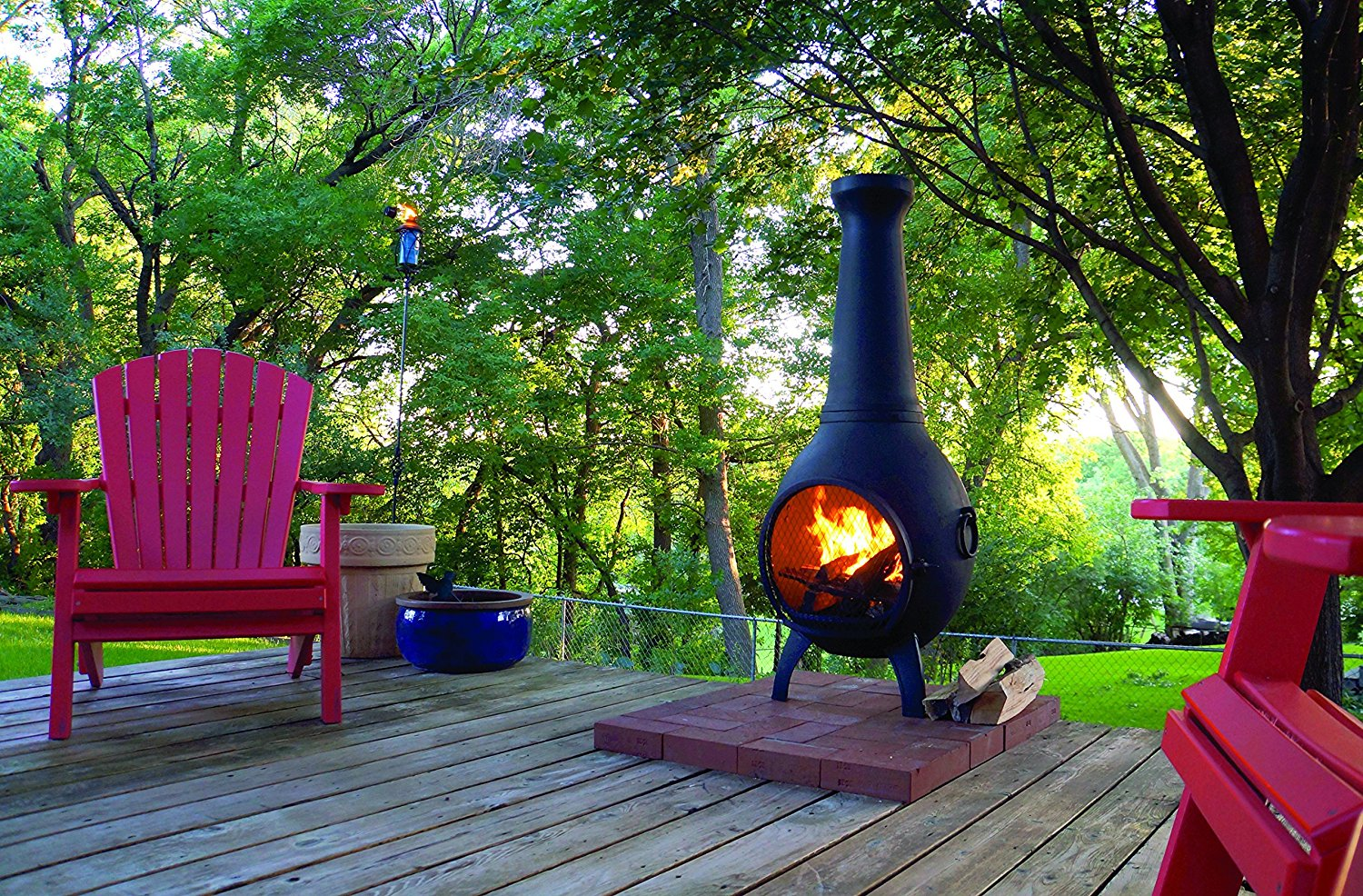 Best Aluminum Chiminea