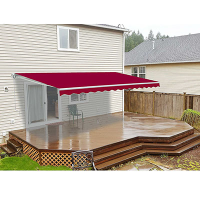 ALEKO 10x8 Feet Retractable Patio Awning