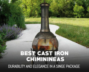 Best Cast Iron Chiminea for Patios
