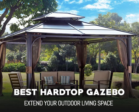 Best Hardtop Gazebo Reviews