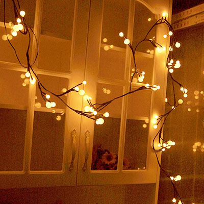 YINGXIANG Globe String Light, LED Decorative String Lights