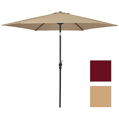 Best Choice Products 10 FT Steel Market Outdoor Patio Umbrella