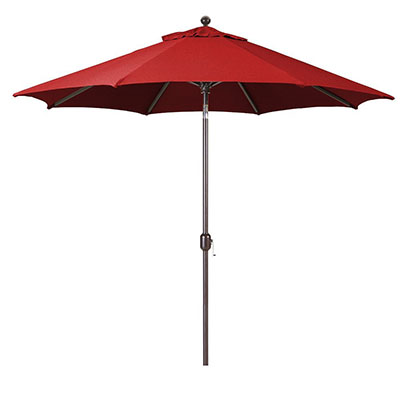 9-Foot Galtech (Model 737) Deluxe Auto-Tilt Umbrella
