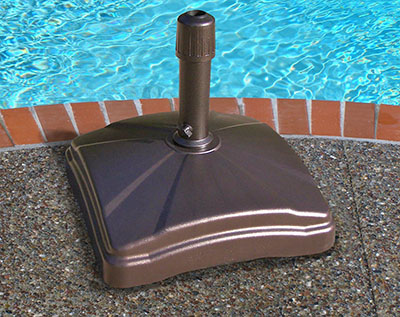 rolling patio umbrella stand