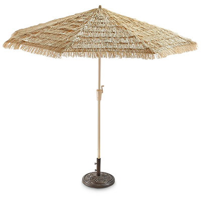 Castlecreek 9ft. Thatched Tiki Umbrella