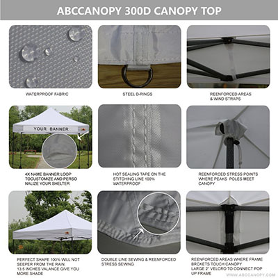 Abccanopy Kingkong Commercial Instant Canopy Kit Ez Pop up Canopy