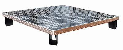 Fire Pit Deck Protector