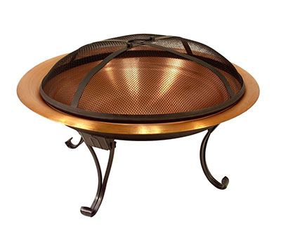 Catalina Creations 100% Solid Copper Portable Folding Fire Pit