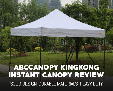 Abccanopy Kingkong Instant Canopy Kit Review