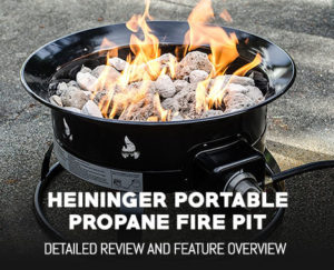 Heininger 5995 Portable Propane Outdoor Fire Pit Review