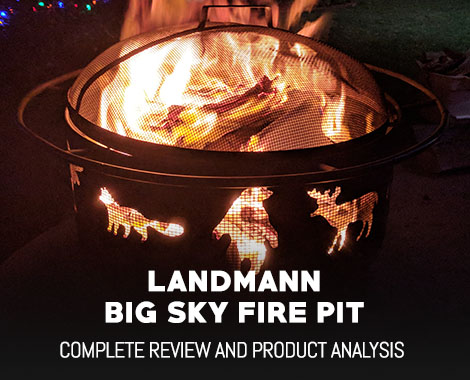 Landmann Big Sky Fire Pit – Hands on Review