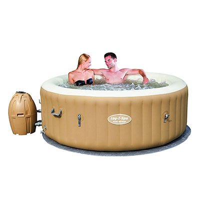 Best Way SaluSpa Palm Springs AirJet Inflatable 6-Person Hot Tub