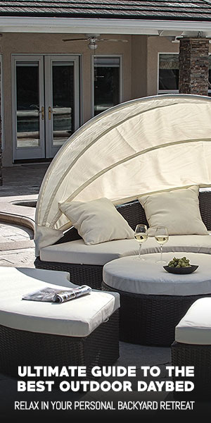 ... daybed offers a relaxing backyard retreat and a wonderful place for both mental and physical relaxation. They can ranged from large shaded canopies ... & Ulitmate Guide to the Best Outdoor Daybed - OutdoorMancave.com