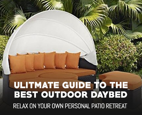 Ulitmate Guide to the Best Outdoor Daybed