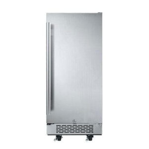 "Avallon AFR151SSODRH 3.3 Cu Ft 15"" Outdoor Built-In Refrigerator"