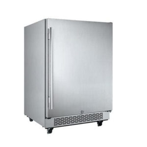 "Avallon AFR241SSODRH 5.5 Cu Ft 24"" Outdoor Built-In Refrigerator"