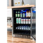 Built-in refrigerators save space