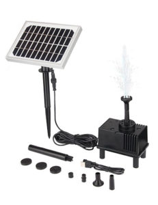 OUSI Solar Fountain