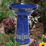High End Solar Bird Bath