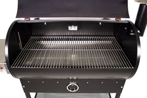 The REC TEC Pellet Grill has a ton of interior space