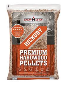 Camp Chef Pellets make a great alternative