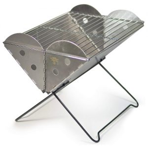 lightweight portable charcoal grill image