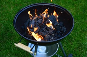 best portable charcoal grill image outdoor firepit