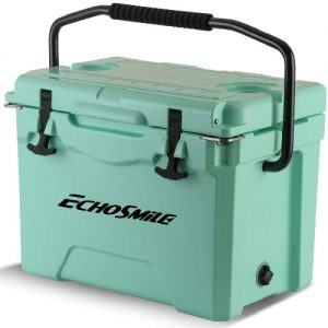 Echosmile rotmolded cooler green color image