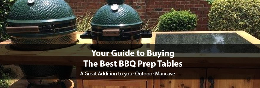 Reviews of the Best BBQ Prep Tables