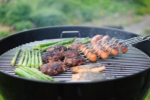cooking space small grill