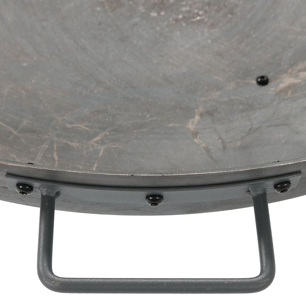 Sunnydaze Cast Iron Wood-Burning Fire Pit Bowl