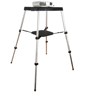 Visual Apex Portable Projector Table Stand