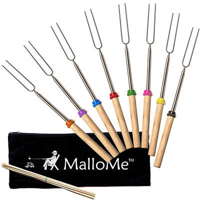 Top Pick, MalloMe Marshmallow Roasting Sticks