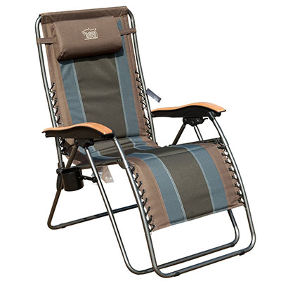 Best Oversized Zero Gravity Chair, Timber Ridge Oversized XL Padded Zero Gravity Chair