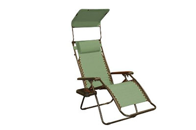 Bliss Hammocks Gravity Free Lounger with Canopy