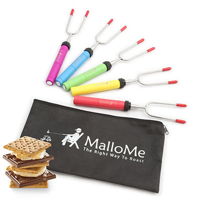 MalloMe Premium Marshmallow Roasting Sticks