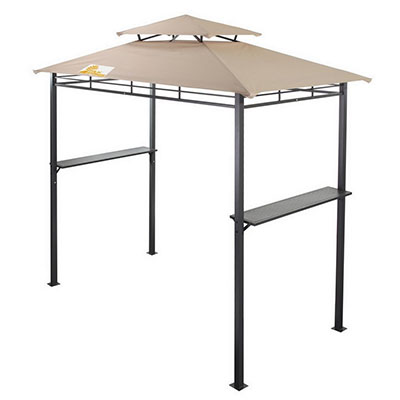Palm Springs Deluxe 8FT Double-Tier Barbecue Canopy