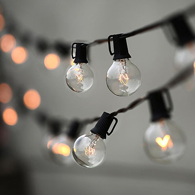 Lampat String Lights, Vintage Backyard Patio Lights