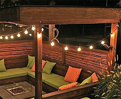 In This Article We Ll Review A Selection Of The 5 Best Outdoor String Lights For Patios And Gazebos Cover Their Various Features Bulb Types