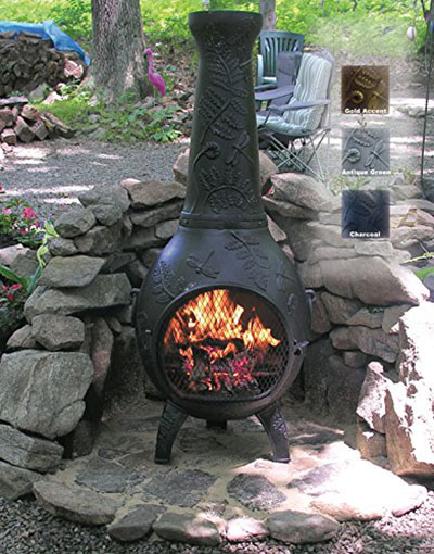 Top 3 Blue Rooster Chimineas Reviews And Comparisons Outdoormancave Com