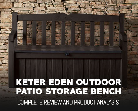 Keter Eden Outdoor Patio Storage Bench Review
