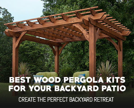 Best Wood Pergola Kits for your Backyard Patio