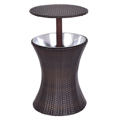 Giantex Adjustable Outdoor Patio Cool Bar Table