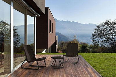 Enjoy the Morning with the Keter Rio Bistro Set