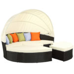Outdoor Daybed with Canopy
