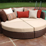 Wicker Outdoor Daybed
