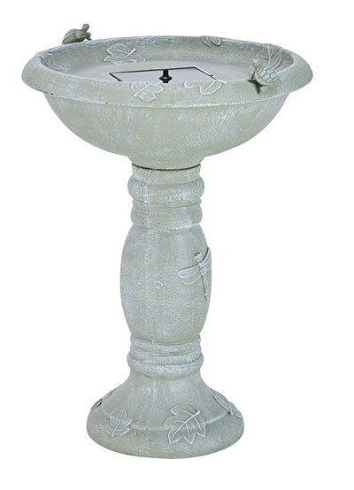 Smart Solar Country Gardens Solar Birdbath Fountain